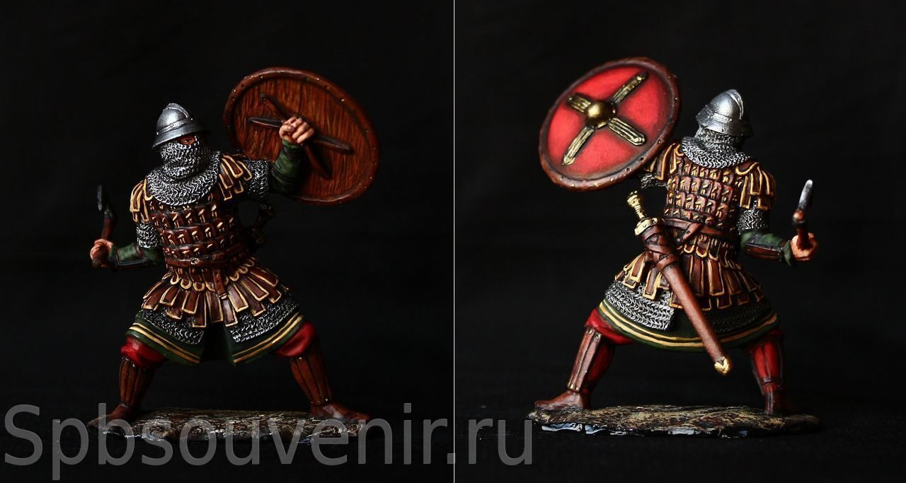 Varangian Guard on Byzantine Service, X c  Spbsouvenir