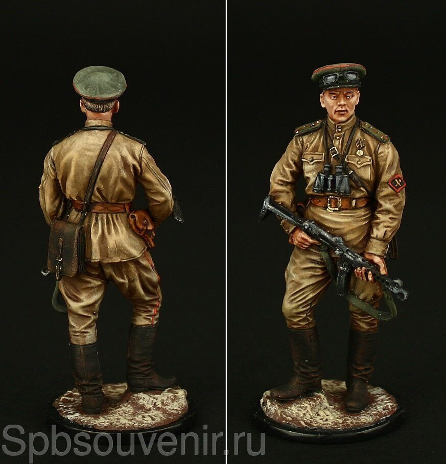 Winter 1944-45 1//32 toy soldiers Publius Soviet russian Red Army Infantry